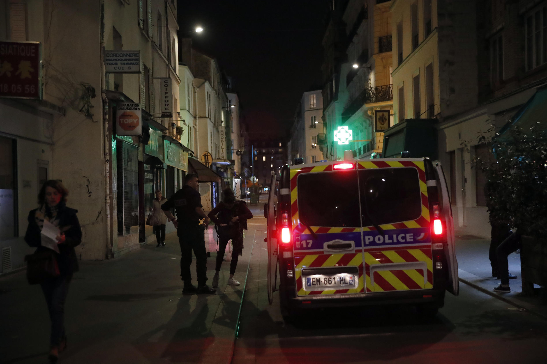 police paris contrôle