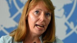 La rapporteure spéciale des Nations unies pour les droits de l'homme, Rhona—Smith.