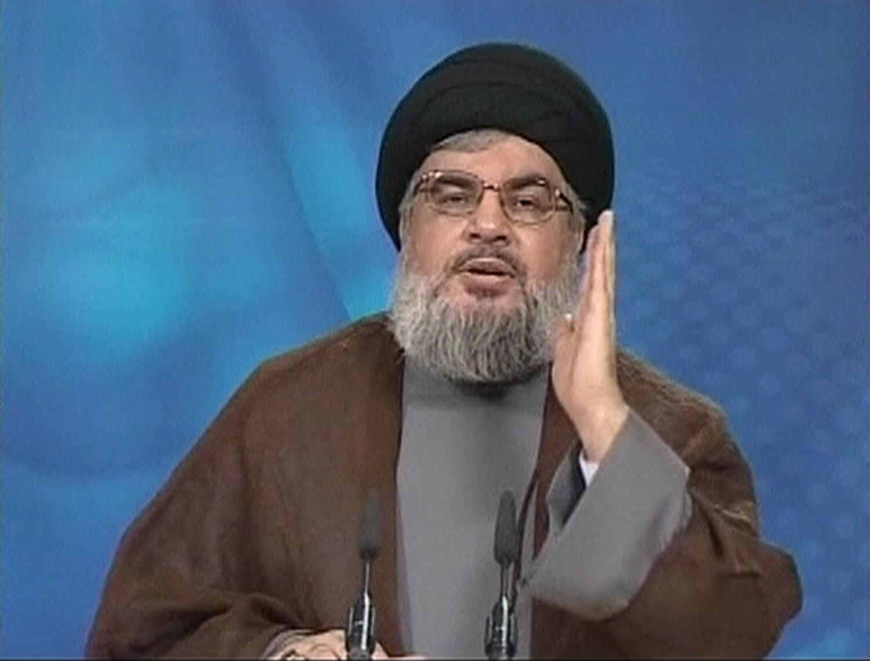 Ông Hassan Nasrallah, lãnh đạo phong trào hồi giáo Hezbollah tại Liban (REUTERS)