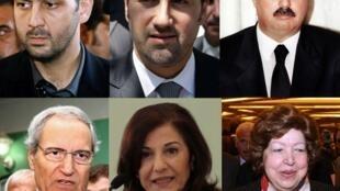 Proches de Bachar el-Assad.