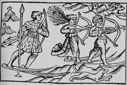 Охотники (Олаф Магнус)