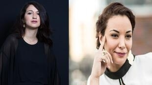 Zineb El Rhazoui et Loubna Abidar.