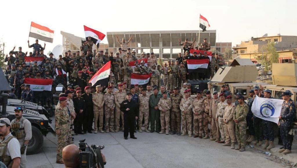 Primeiro-ministro do Iraque, Haider Al-Abadi, proclama oficialmente vitória sobre o grupo Estado Islâmico em 10 de julho de 2017