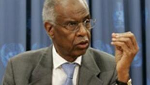 Ahmedou Ould-Abdallah, le président du Centre des stratégies pour la sécurité du Sahel-Sahara.