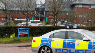 O Hospital de Salisbury é visto após a alta de Yulia Skripal. 10/04/18, Salisbury, Grã-Bretanha.