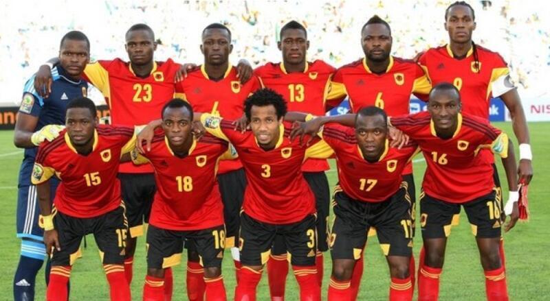 Selecção Angolana de Futebol presente no CHAN 2016