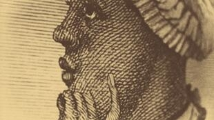 Représentation de Phillis Wheatley.