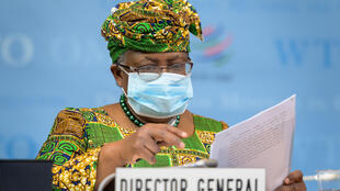 """WTO's new boss Ngozi Okonjo-Iweala says """"he strong rebound in global trade since the middle of last year has helped soften the blow of the pandemic""""."""