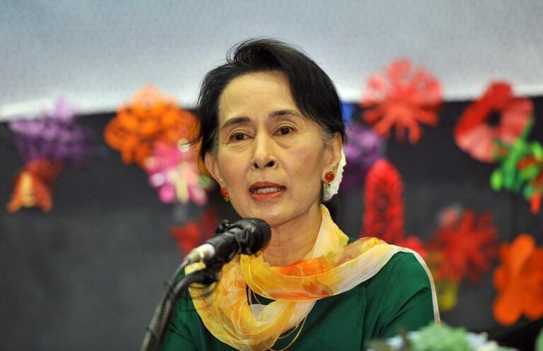 Kiongozi wa upinzani nchini Myanmar Aung Sun Suu Kyi