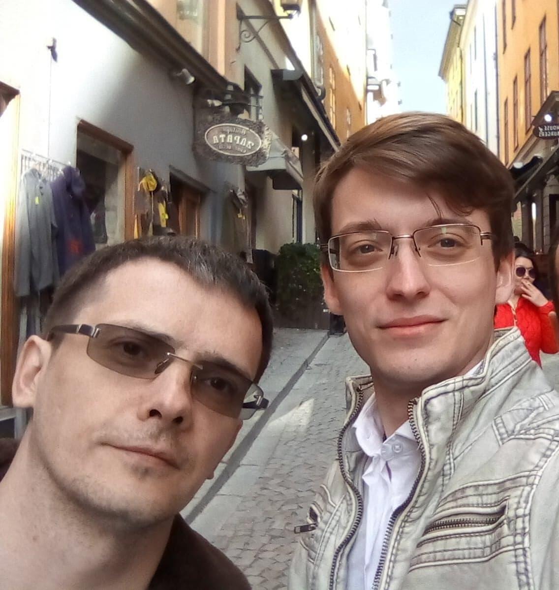Константин Зыков вместе с соратником по сочинскому штабу Дмитрием Титковым, также эмигрировавшим в Швецию