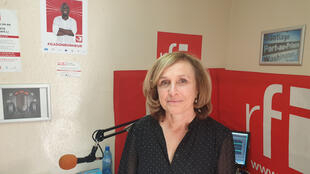 Geneviève Federspiel, ambassadrice de Suisse en Haïti.