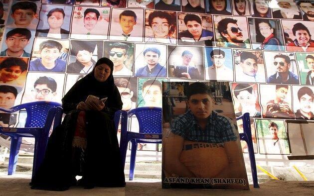 巴基斯坦 悼念白沙瓦屠殺遇難者