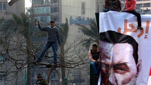 Protests in Cairo's Tahrir Square show no sign of losing momentum.