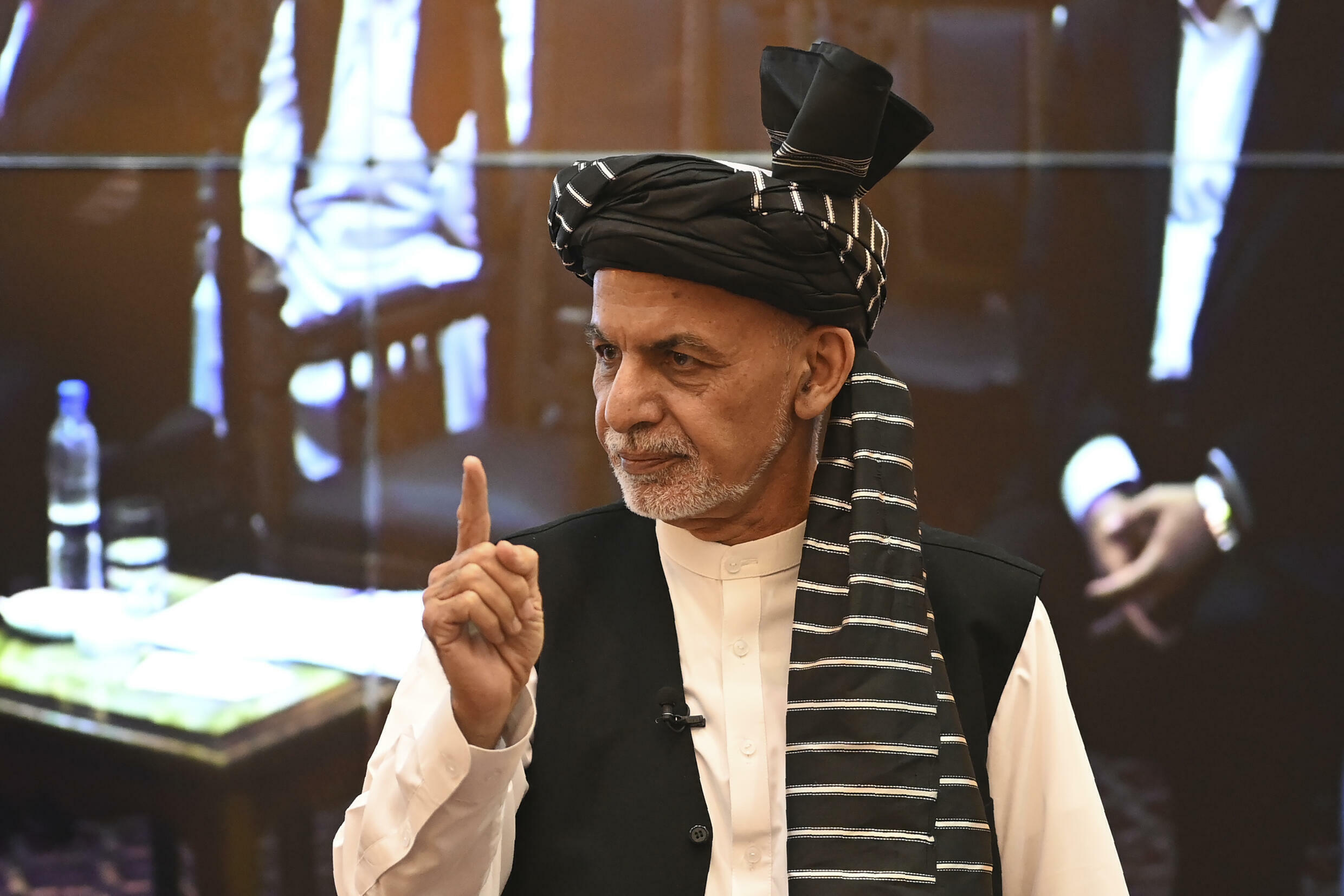 Afghan President Ashraf Ghani fled Afghanistan as the Taliban reached Kabul, effectively ceding power to the insurgents