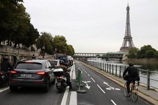 França incentiva o uso de bicicletas