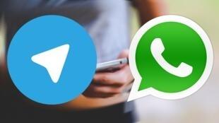 """""""واتساپ"""" و """"تلگرام""""، دو برنامه مورد توجه طالبان و داعش میباشد در جهت انجام برنامههای تروریستی."""