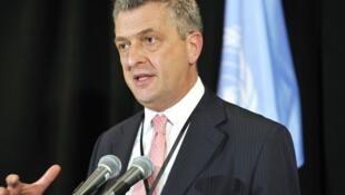 Filippo Grandi   رئیس کمیساریای عالی سازمان ملل برای پناهجویان