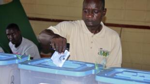 Opération de vote à Nouackchott, Mauritanie, septembre 2018 (image d'illustration).