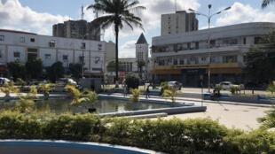 Largo do Município, cidade da Beira, Moçambique