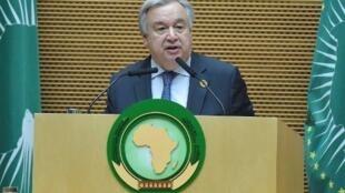 Katibu mkuu wa umoja wa Mataifa, António Guterres.