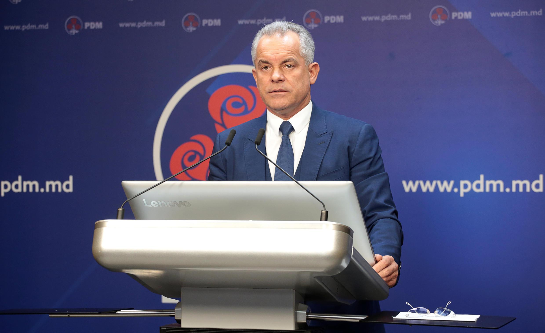 Лидер демократов Влад Плахотнюк