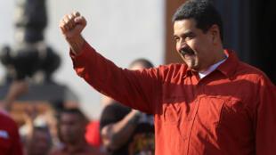 Le président du Venezuela, Nicolas Maduro, le 5 avril 2018 à Caracas.