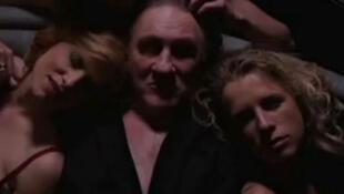 """Imagem retirada do trailer do filme de Abel Ferrara com Gérard Depardieu que teria """"vazado"""" na Internet."""