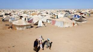 Acampamento de sarauís