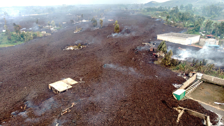 volcan lave goma rdc