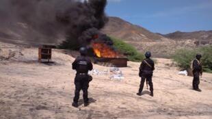 """Polícia Judiciária cabo-verdiana destruiu 1.157 quilos de cocaína apreendidos na """"Operação Zorro"""""""