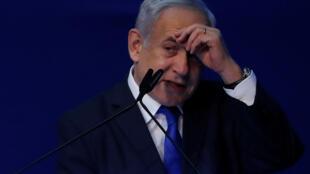 Benjamin Netanyahu a revendiqué lundi 2 mars une victoire éclatante aux législatives israéliennes.