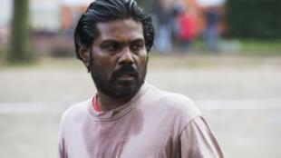Antonythasan Jesuthasan dans « Dheepan » de Jacques Audiard, en lice pour la Palme d'or du Festival de Cannes 2015.