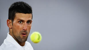 Novak Djokovic says his focus is on ending 2020 as the world number one.