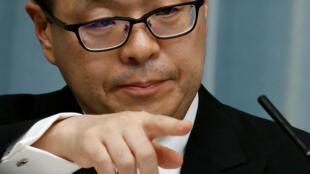 Ông Hiroshige Seko, bộ trưởng Công Nghiệp Nhật Bản, phản bác cáo buộc của Hàn Quốc.
