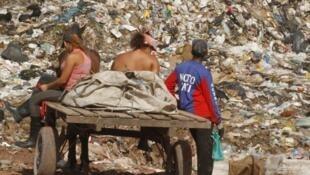 No lixão de Aurá, em Ananindeua, na região metropolitana de Belém, existem 1,8 mil catadores cadastrados.