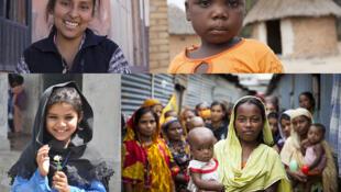 Saima, Shashida, Danitsa y Jennifer, cuatro niñas, cuatro historias.