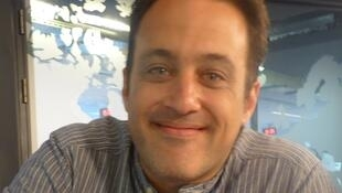Gabriel Sivak en los estudios de RFI