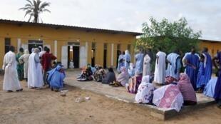 Dans un bureau de vote de Nouakchott, le 1er septembre 2018. (Photo d'illustration)