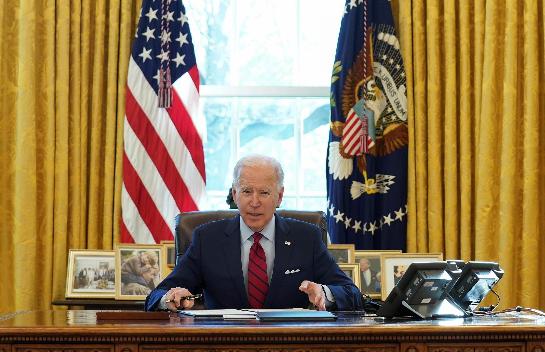 美國總統拜登資料圖片