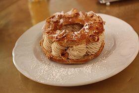 法國美味傳統糕點巴黎-布雷斯特車輪泡芙(Paris-Brest)