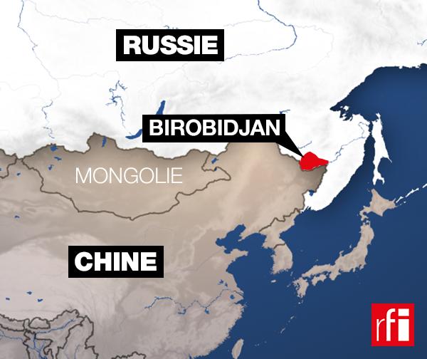 Birobidjan est situé dans l'Extrême-Orient russe. Cette région autonome a été créée par Staline pour accueillir les juifs d'URSS.
