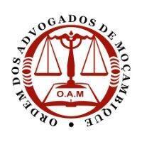 Logótipo da Ordem dos Advogados de Moçambique, criada a 14 de Setembro de 1994.