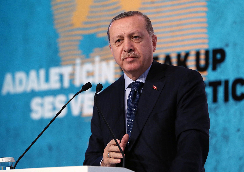Le président turc Recep Tayyip Erdogan à Istanbul, le 25 novembre 2016.