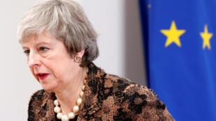 La primera ministra Theresa May en diciembre de 2018.