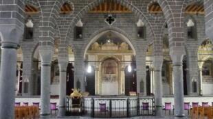 The Diyarbakir's Armenian church St. Giragos after restoration