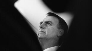 Jair Bolsonaro em 7 de novembro, em Brasilia.
