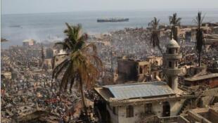 Susan's Bay, Freetown Sierra Leonne