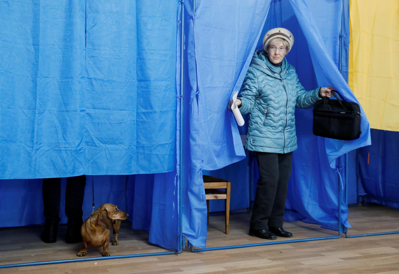 Избирательный участок в Харькове
