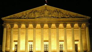La Asamblea Nacional, en París.