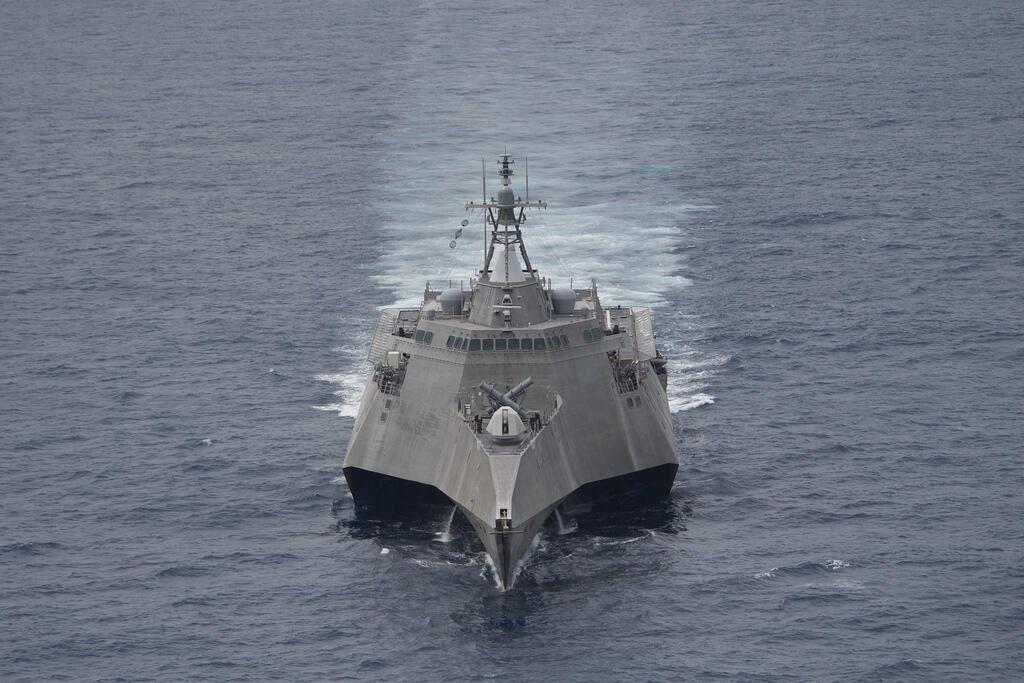 Chiến hạm Mỹ, USS Coronado (LCS 4) tại Biển Đông. Ảnh chụp hồi tháng 2/2017.